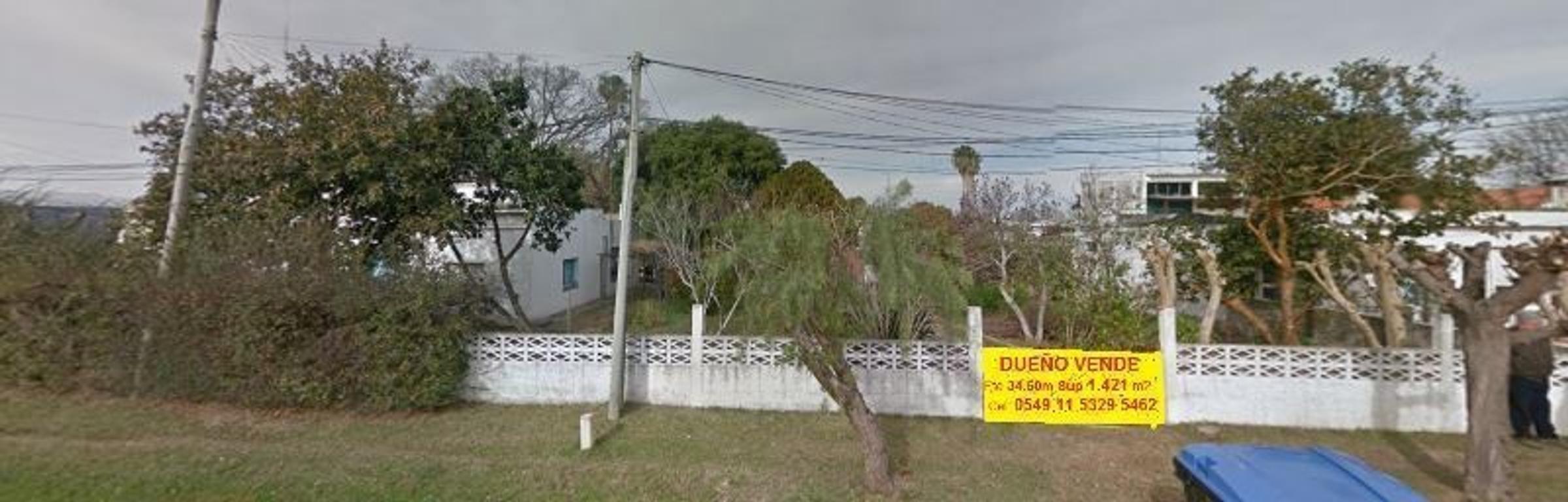 DUEÑO VENDE TERRENO 1.420 m2 Dr. Luis Casanello 800. Vecino a Playa Ferrando y Casco Histórico
