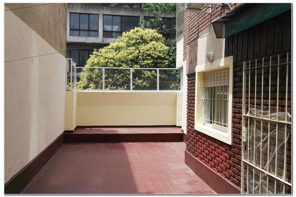 3 amb c/ terraza, escritorio, cocina y lav indep.