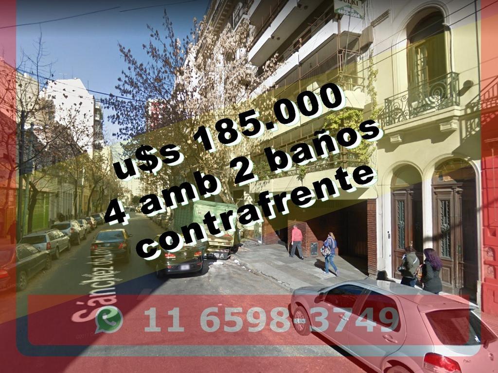 Departamento en Venta en Almagro 4 ambientes 2 baños contrafrente 69 m2 + balcón - Sanchez de Loria