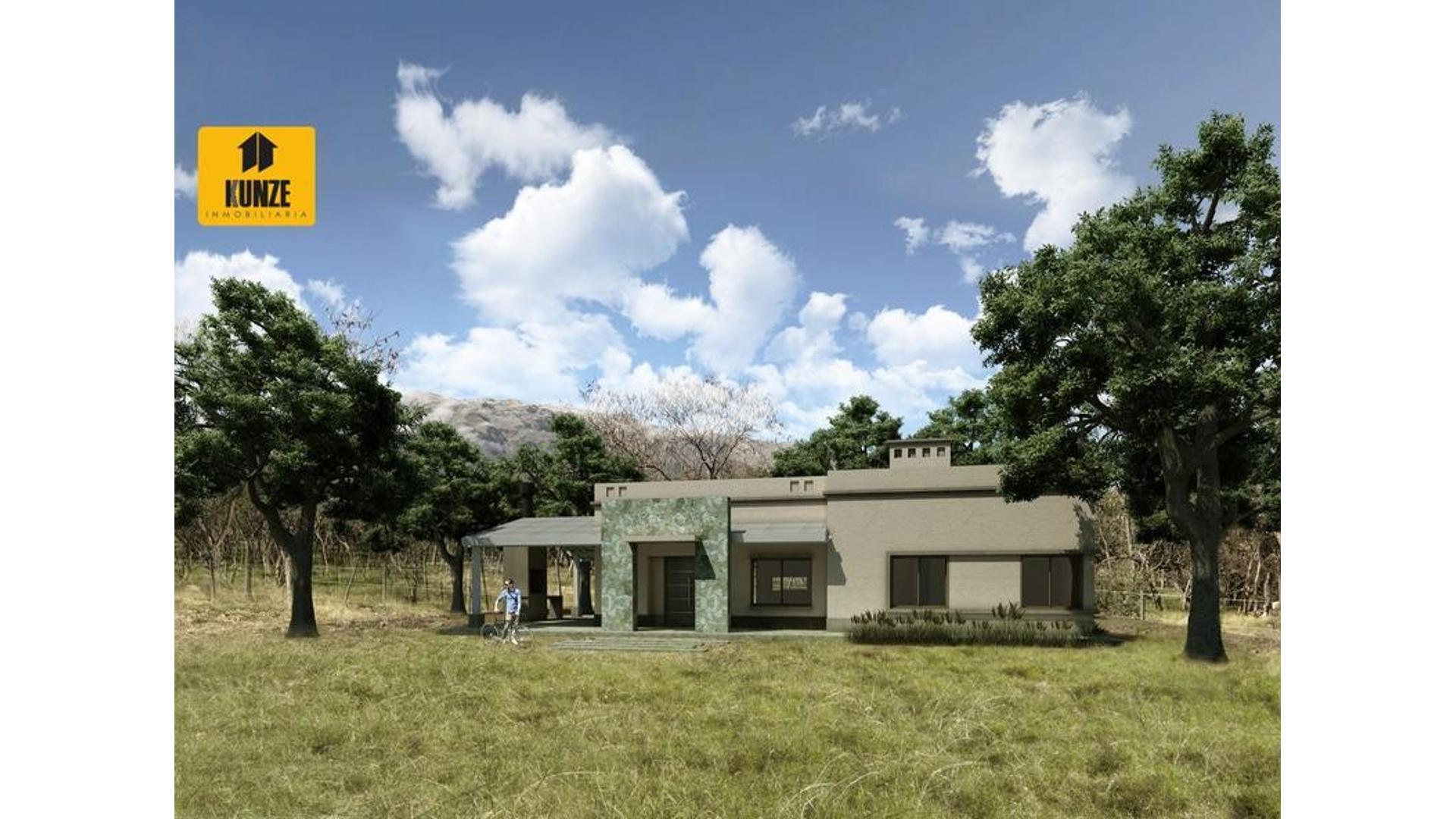 Casa en venta  Apto crédito  Merlo  San Luis  3 ambientes