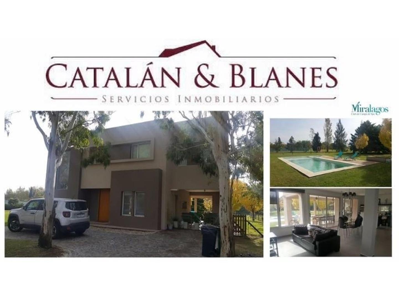 Casa en Alquiler en Club Miralagos - 5 ambientes