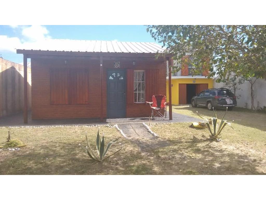 Venta casa 3 ambientes en Las Toninas mas monoambiente en terreno