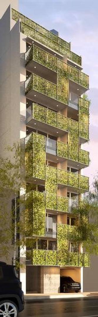 a estrenar 2 amb con balcón, suite y toilette en Villa Crespo