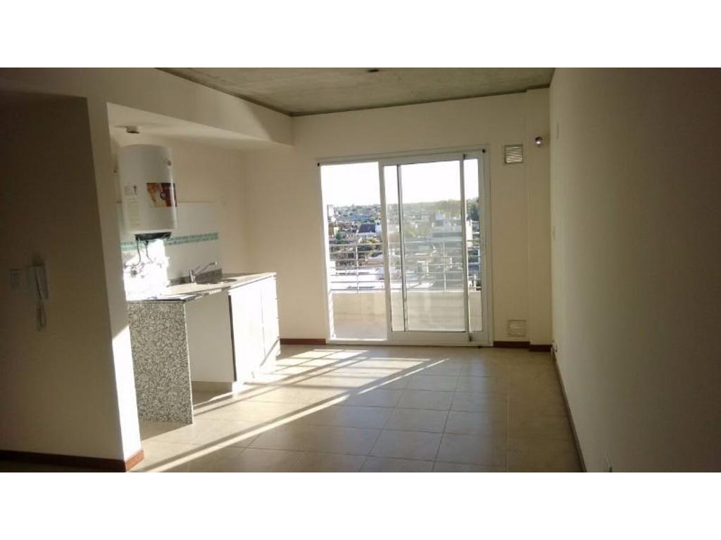Departamento a estrenar de 1 dormitorio con cochera en Entre Rios 3475