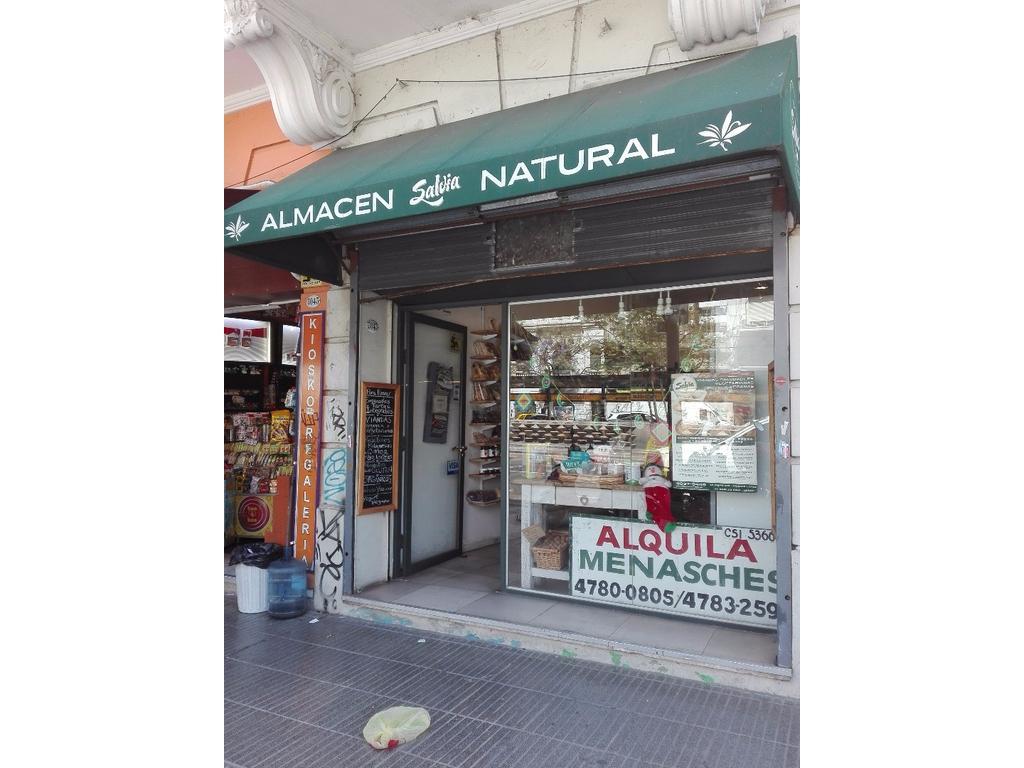Excelente Local Comercial de 3x9+Ofic, toilette (sin pileta) y patio cubierto. Belgrano
