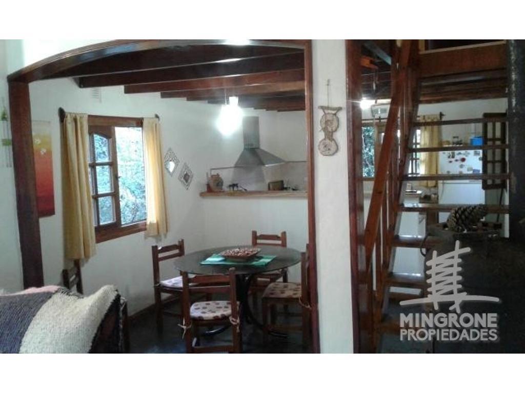 Confortable casa en Valeria del Mar 3 habitaciones amplio quincho