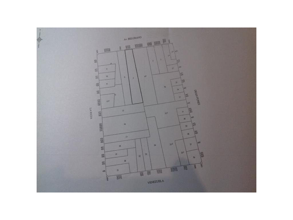 Av. Belgrano para vendibles: 2080m2+cocheras