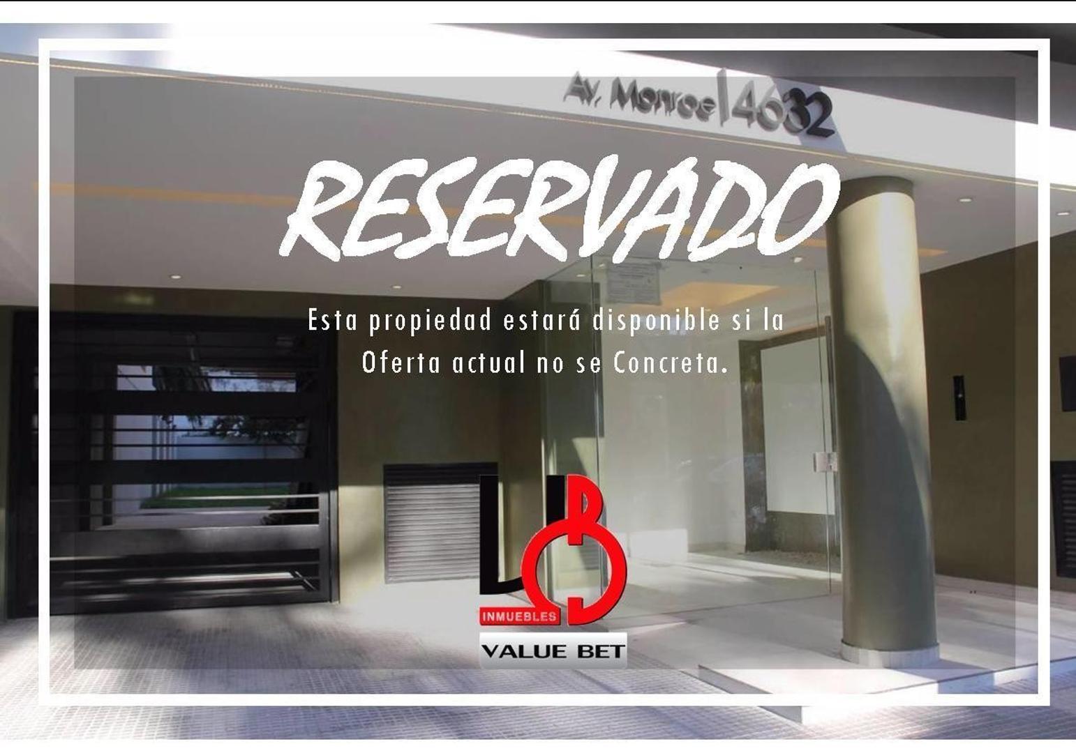 AV MONROE AL 4600- EDIFICIO DISEÑO VIII - BELGRANO - CABA - RESERVADO!!