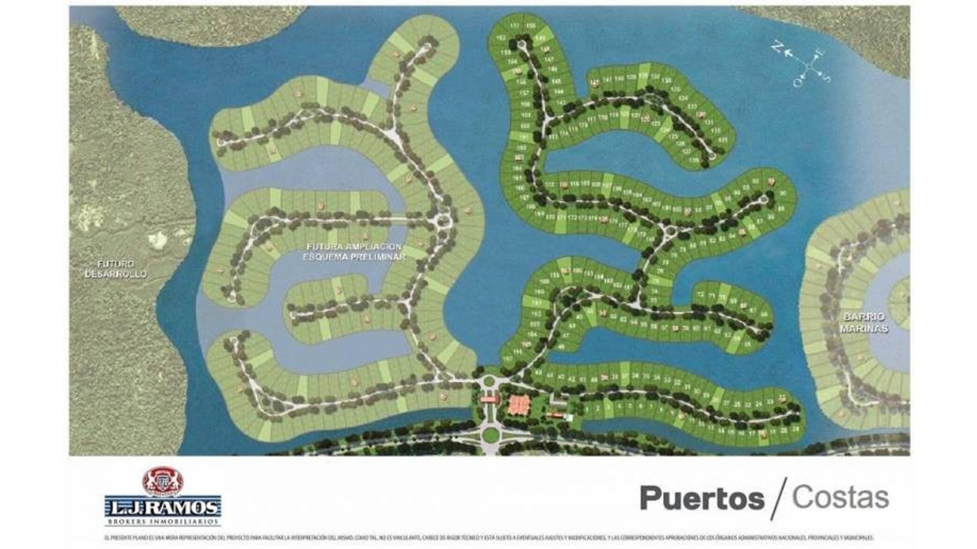 PUERTOS - BARRIO COSTAS - RAMAL ESCOBAR KM 45 - LOTE 43 - 100
