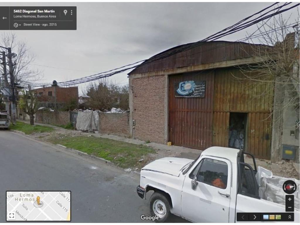 Galpon En Venta En Av Eva Peron Y Diagonal San Martin
