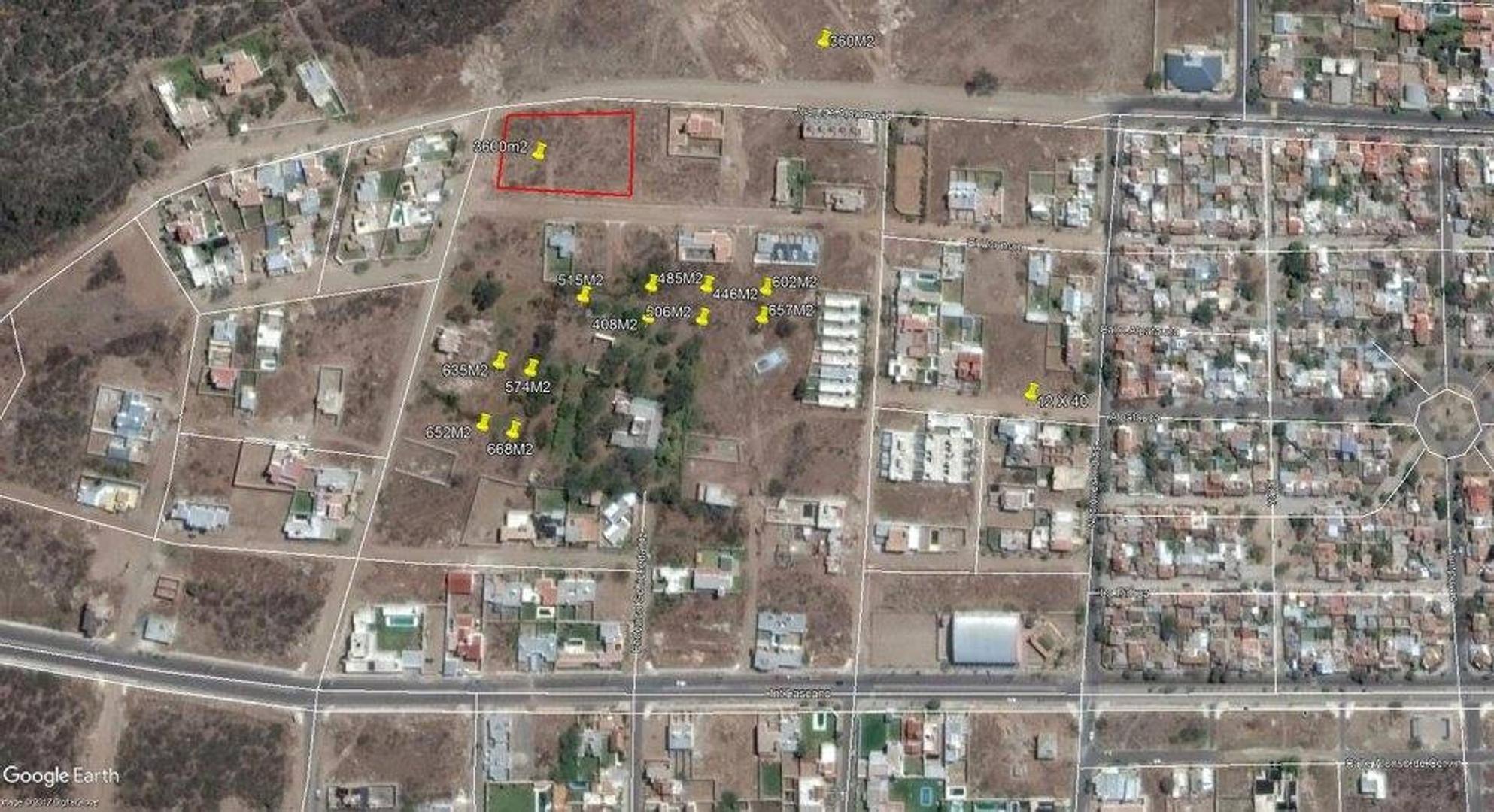 LOTES ZONA ALTA DESDE 360 M2 HASTA 3600 M2