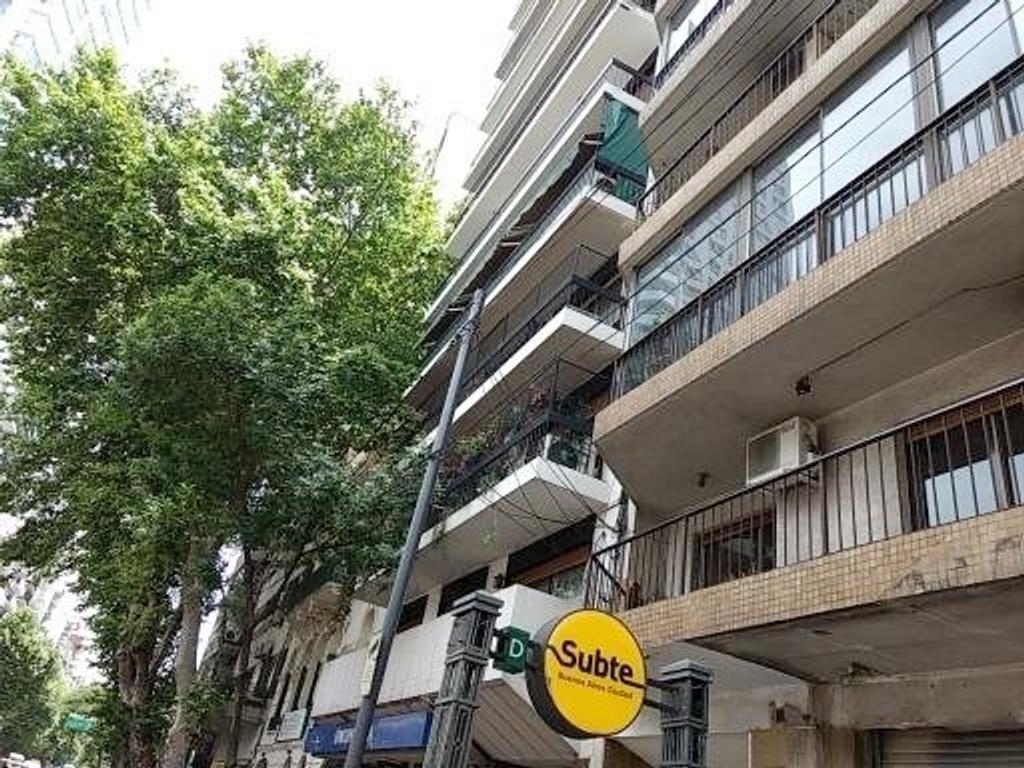 Venta Palermo semipiso 140 m2 reciclado a nuevo al frente super luminoso pallier priv depend baulera