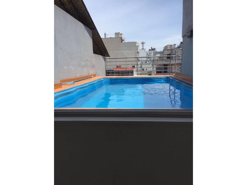 ALQUILER - Impecable monoambiente Aguero 1600 - Recoleta