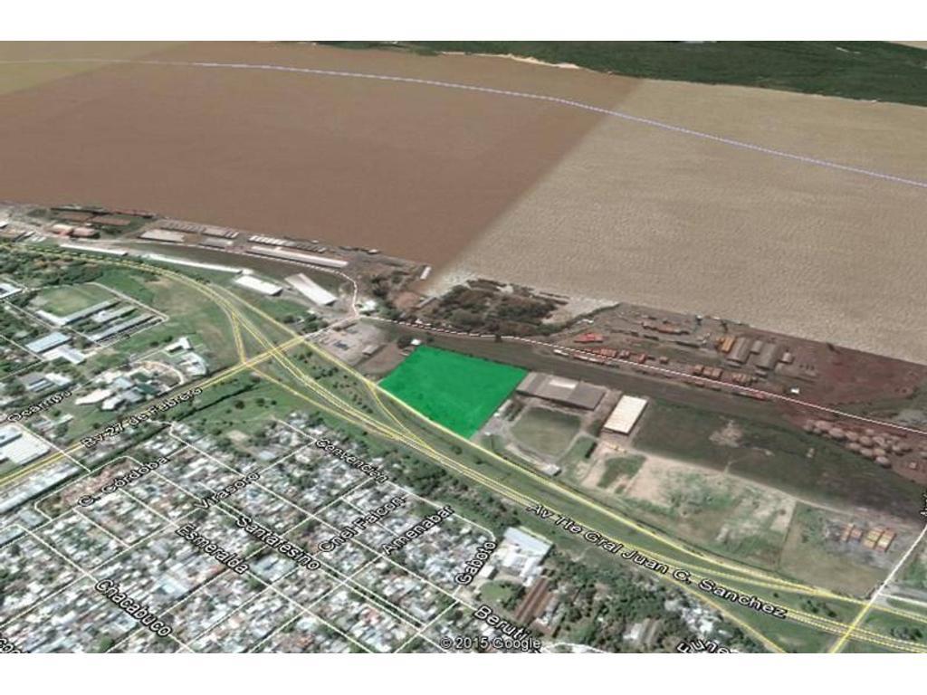 Fracción 33.000 m2 en Zona Puerto Rosario. 27 de Febrero y Colectora Circunvalación