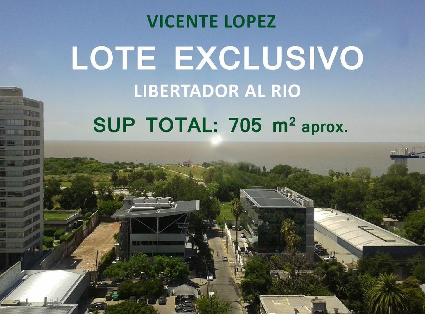 Terreno al rio - V.Lopez