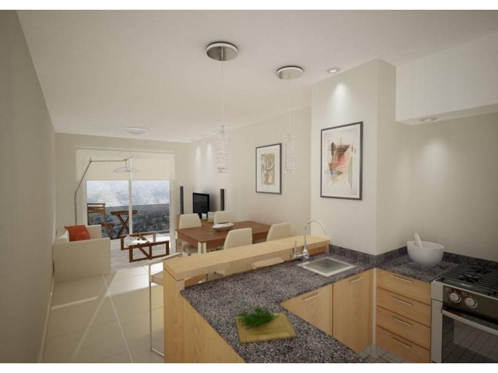 Departamentos de 1 dormitorio - Barrio Abasto - Zona Pellegrini