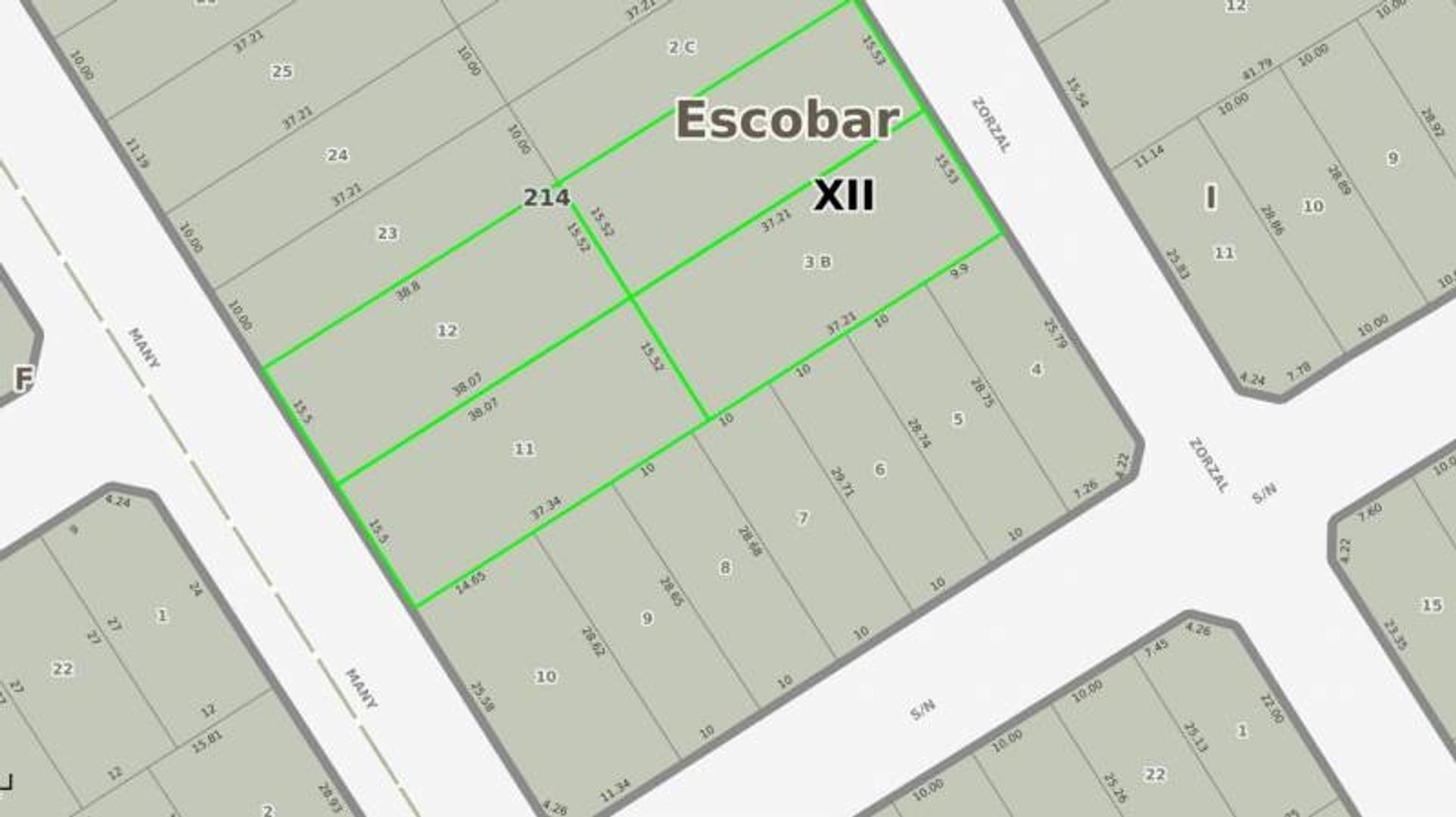 Terrenos en Barrio Villa Legre, Únicos en la Zona,Escriturable
