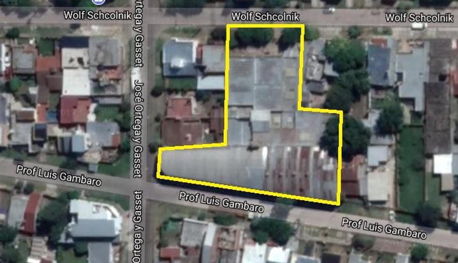 Galpón 2000m2 en 1 Planta; Salida 2 calles; Zona Industrial