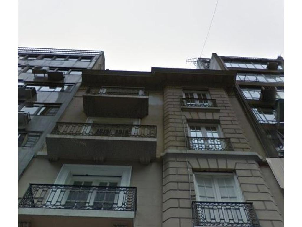 25 de mayo 500, Se vende edificio en BLOCK
