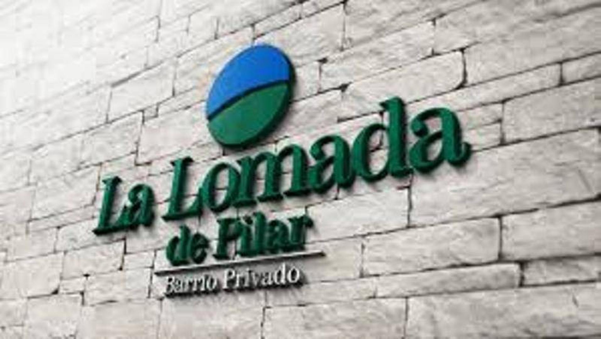 EXCELENTE LOTE EN BARRIO LA LOMADA - PILAR