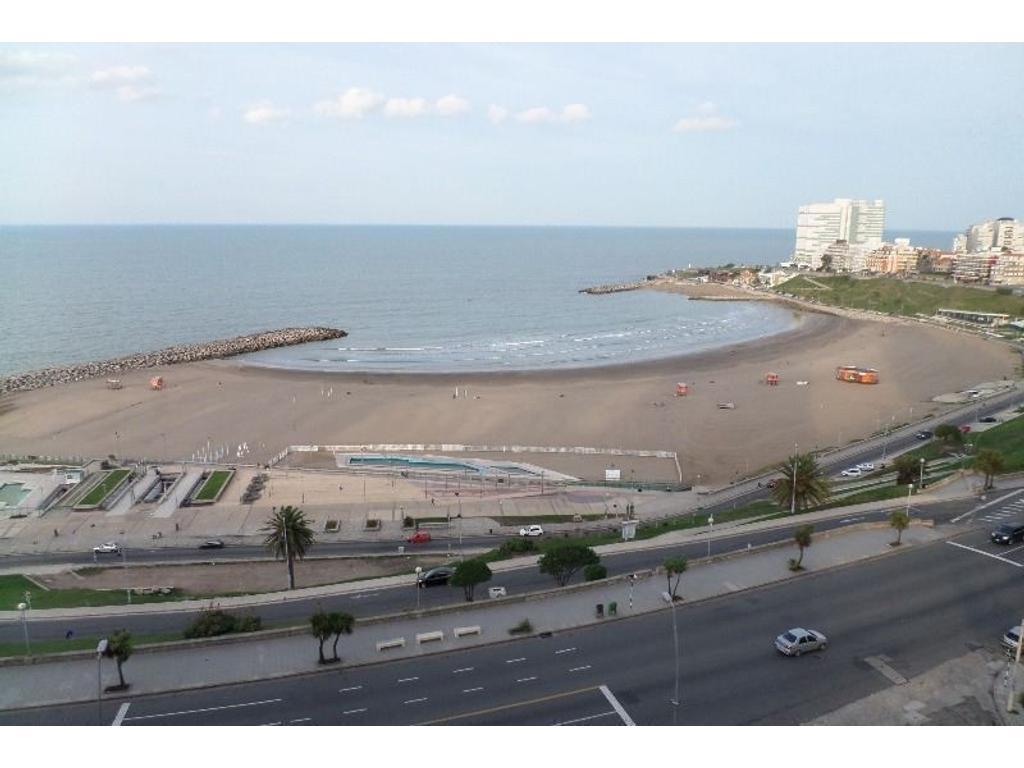 Verano 2018 - 3 amb. con vista al mar y cochera fija   Edificio de categoría   MARAL 44