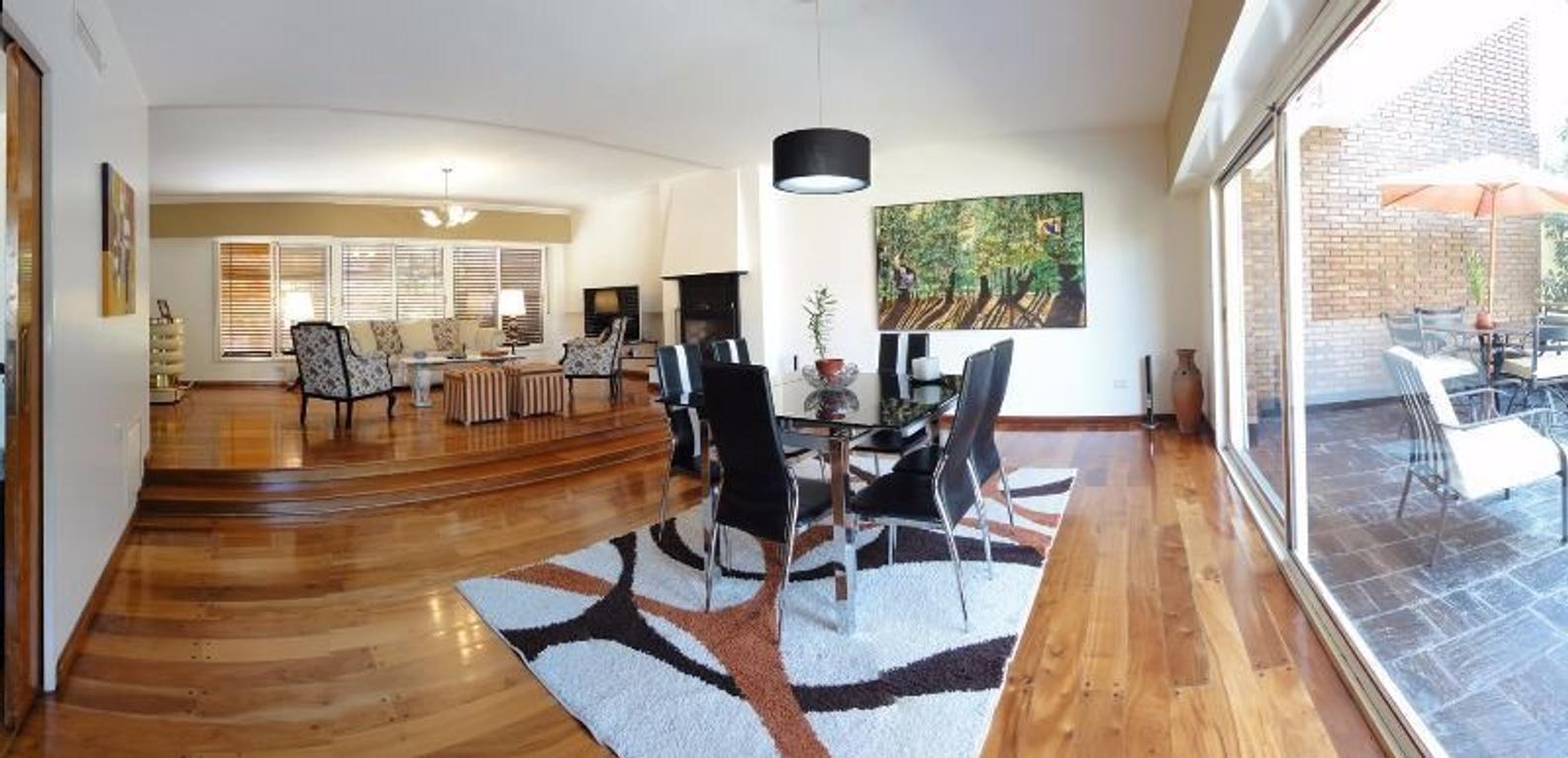 Exclusiva Residencia 5 Dorm., Parque, Piscina y Playroom Ambientes Amplios