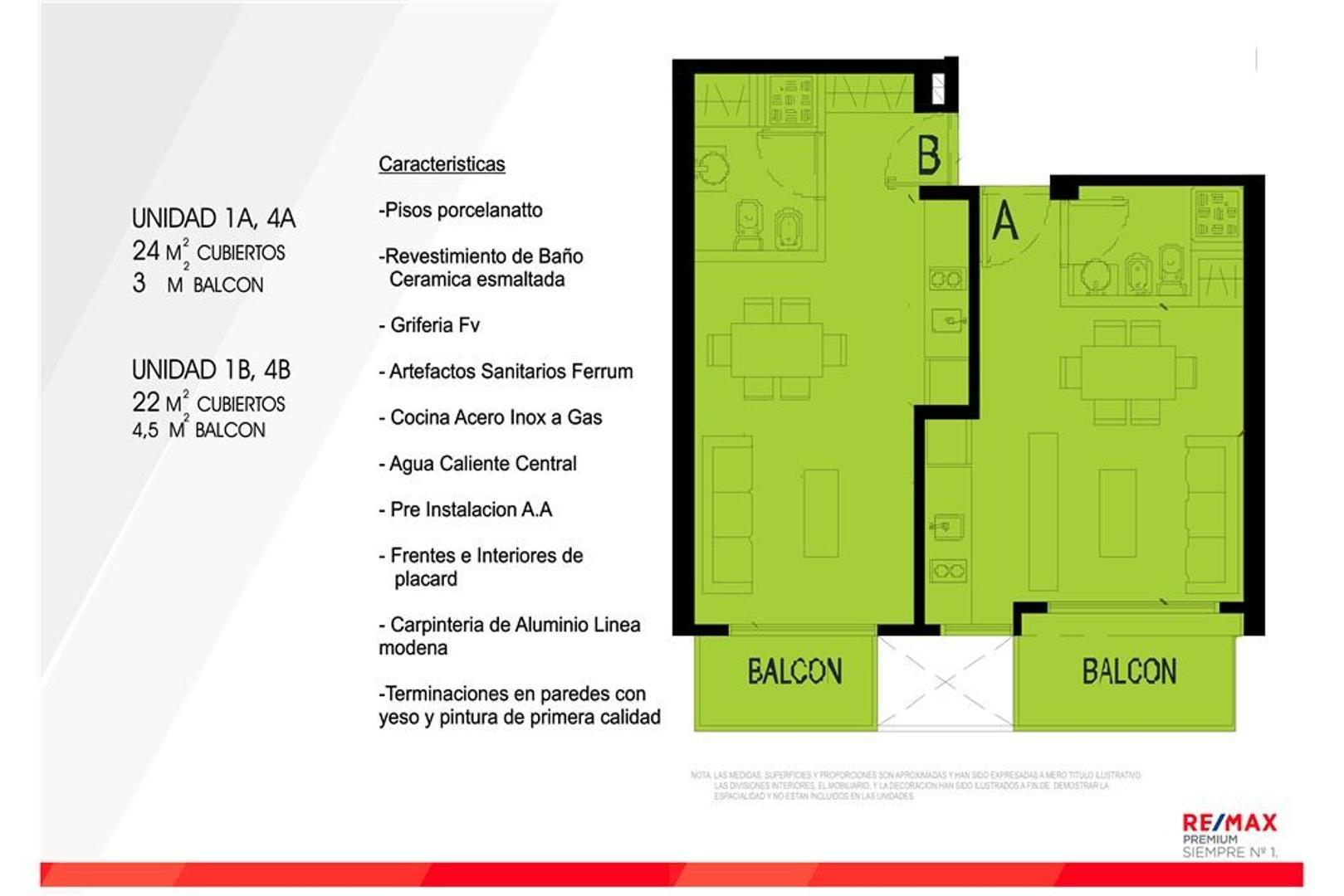 Monoambiente a Estrenar, Balcón, OPORTUNIDAD!!!