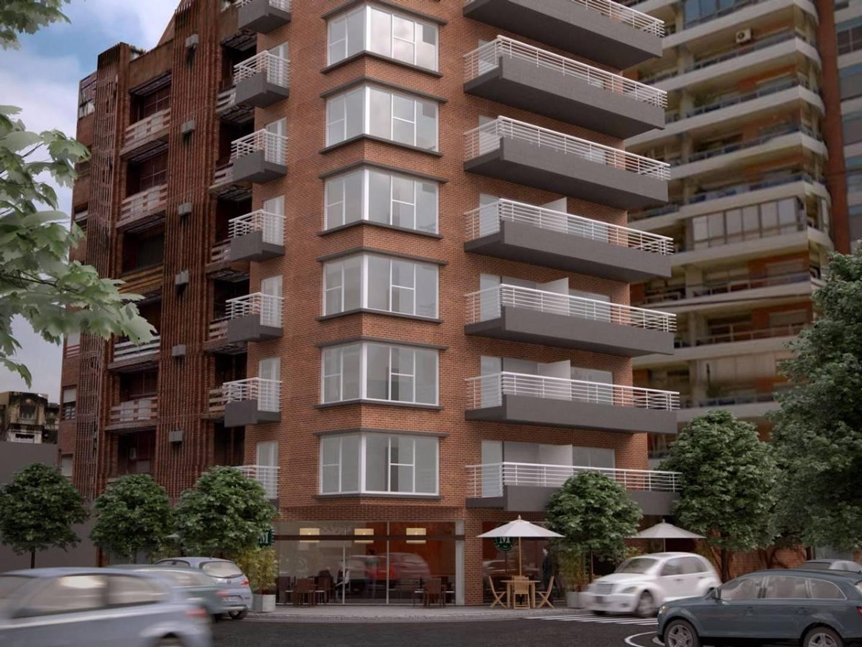 Piso  3 amb (planta flexible)  Balcón- APTO. Sobre Boulevard Comodoro- A pasos del Metro bus