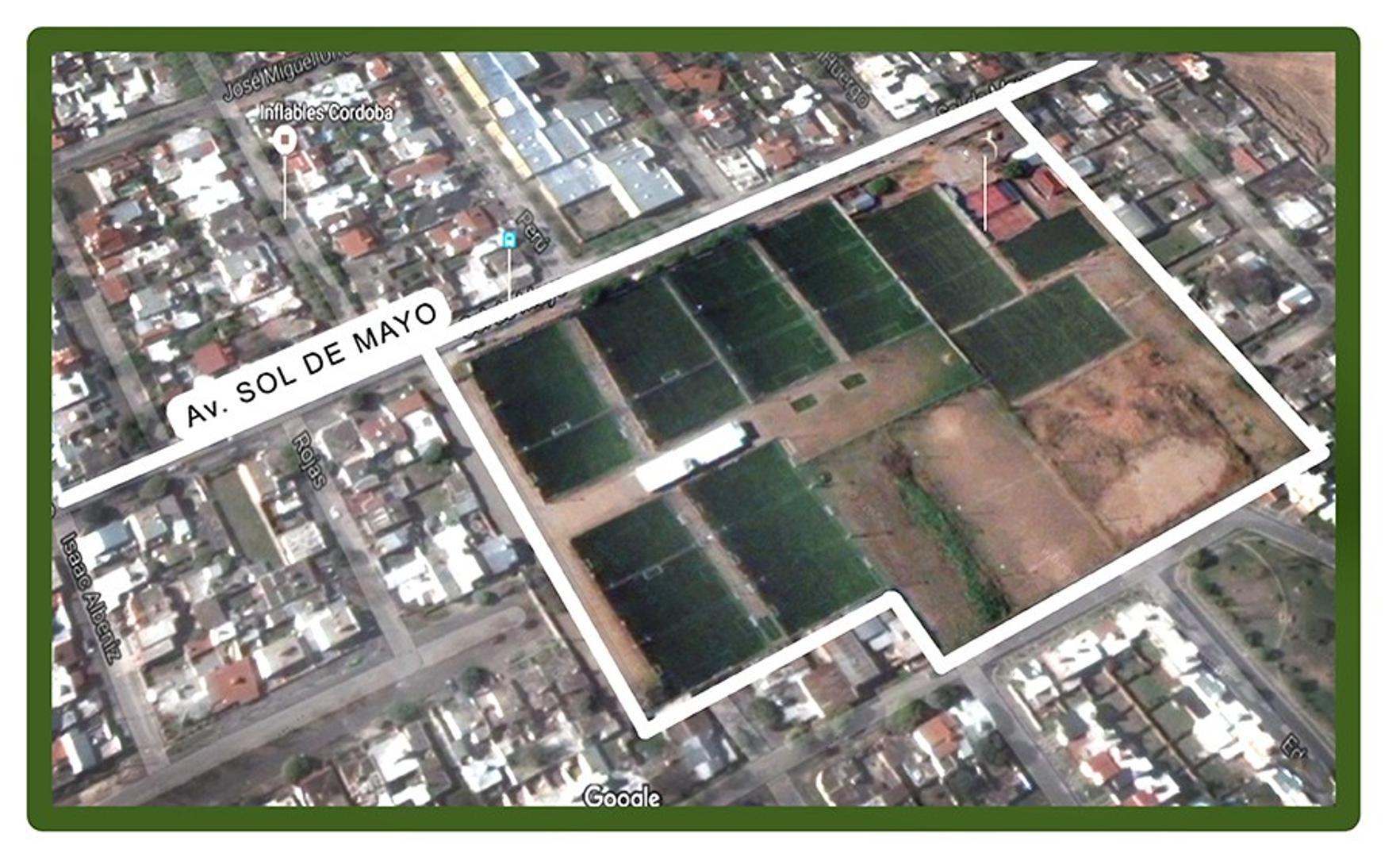 3 lotes de 11mil m2 para construir super Mami ruta 20