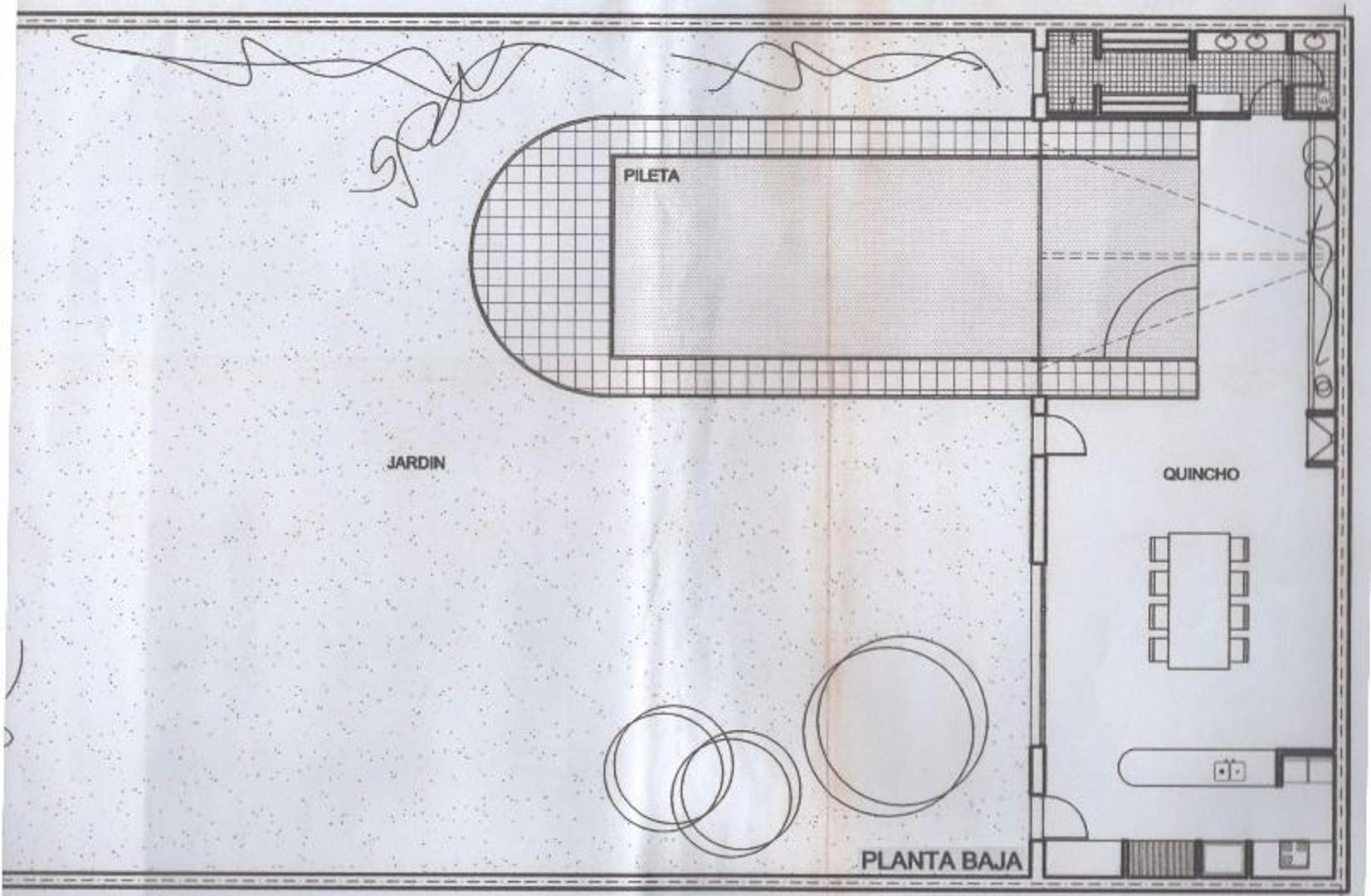 Chalet 3 Pltas de 630 m2. Lote 863 m2 (19x45 mts.) Jardín 636 m2. Piscina 12 x 5 In-Out climatizada  - Foto 14