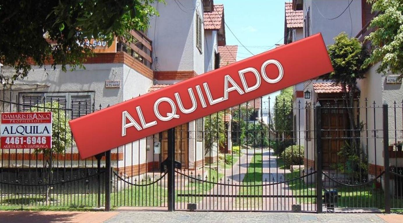 ALQUILADO! DEPTO 3 AMBIENTES - 1° PISO POR ESCALERA