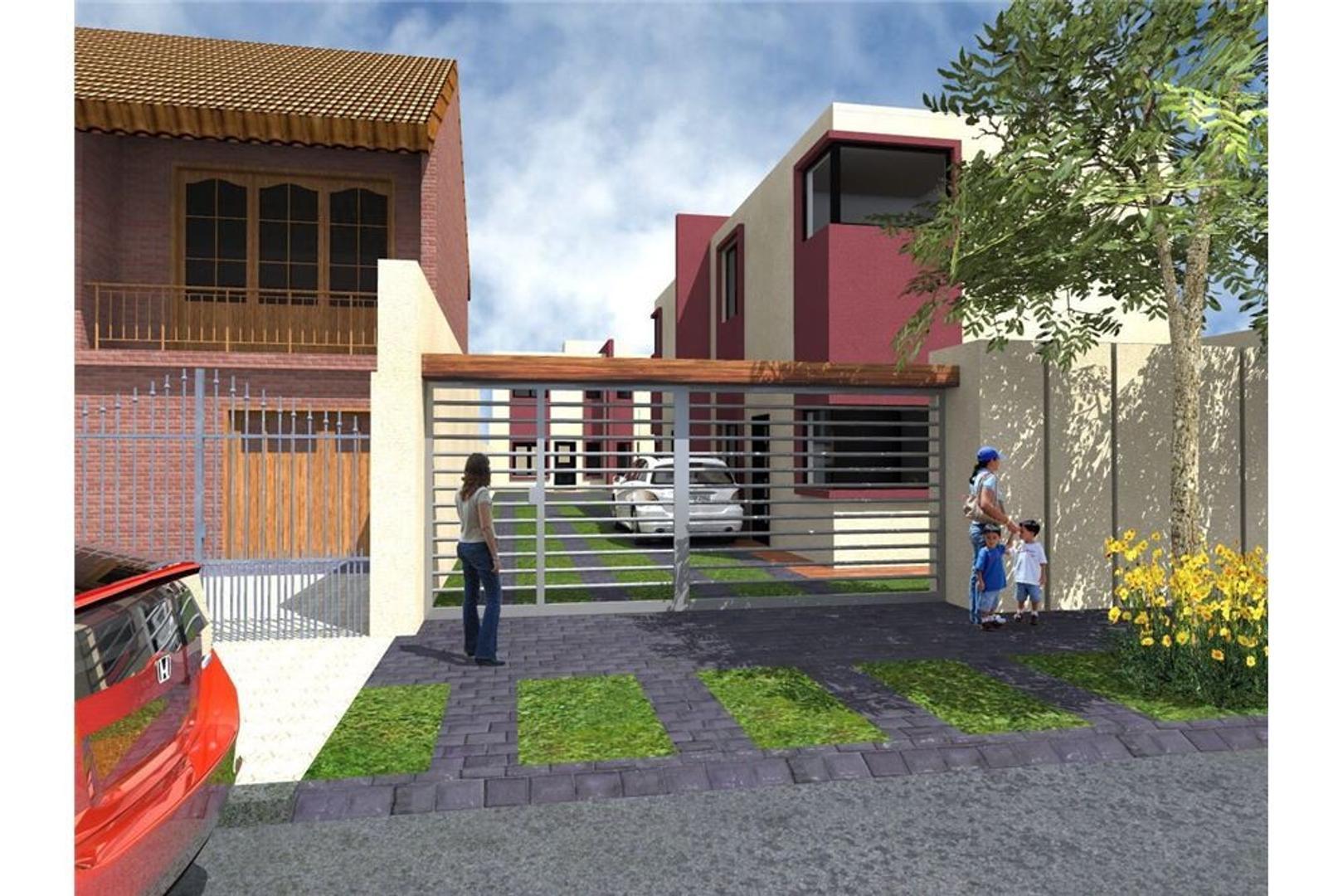 Dupex 3 amb c/coch y patio,  complejo, A ESTRENAR