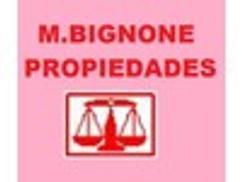 M. BIGNONE PROPIEDADES