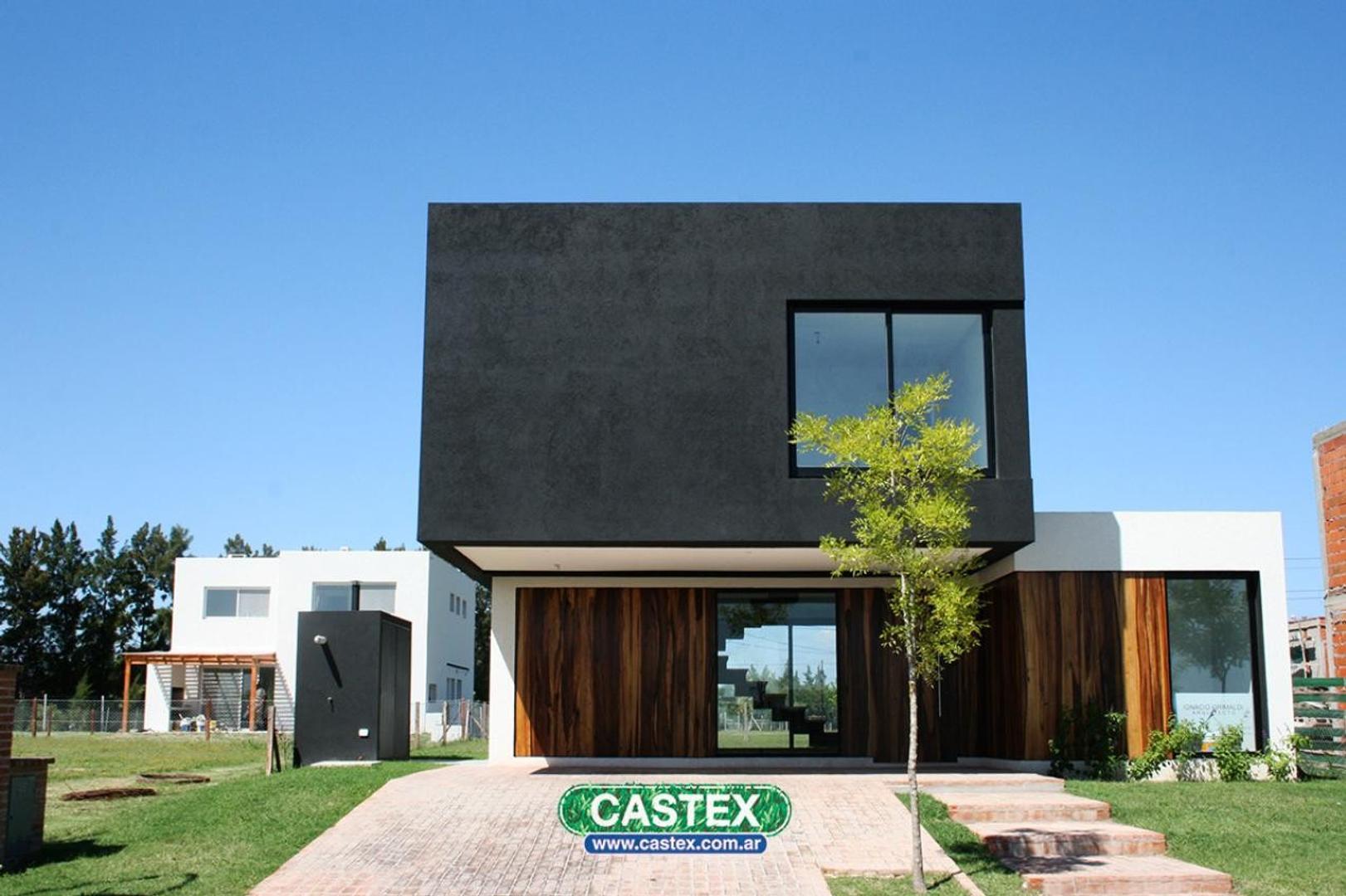 Casa de diseño moderno en Tipas