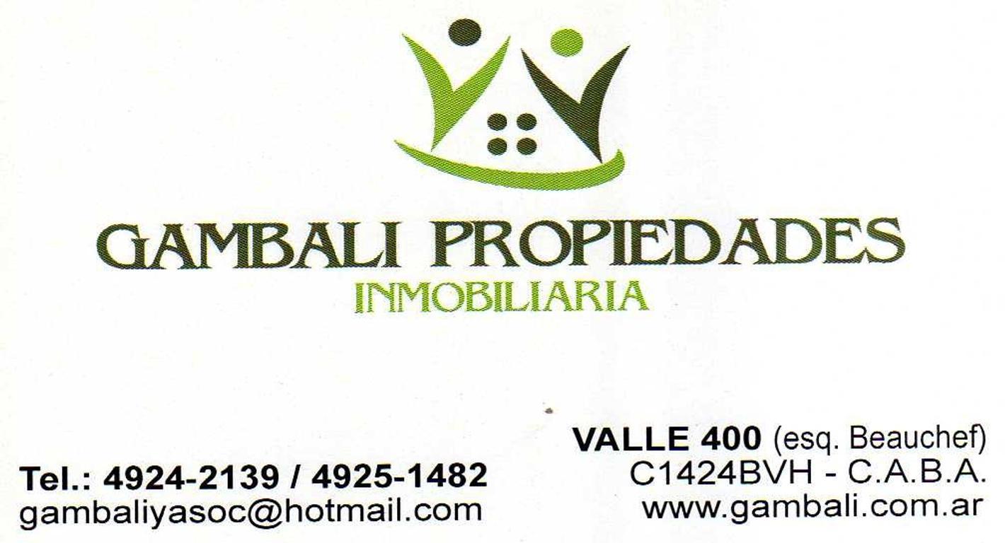 """P.H. POR ESCALERA 3 AMBIENTES AL FRENTE C/ BALCON """"APTO PROFESIONAL"""""""
