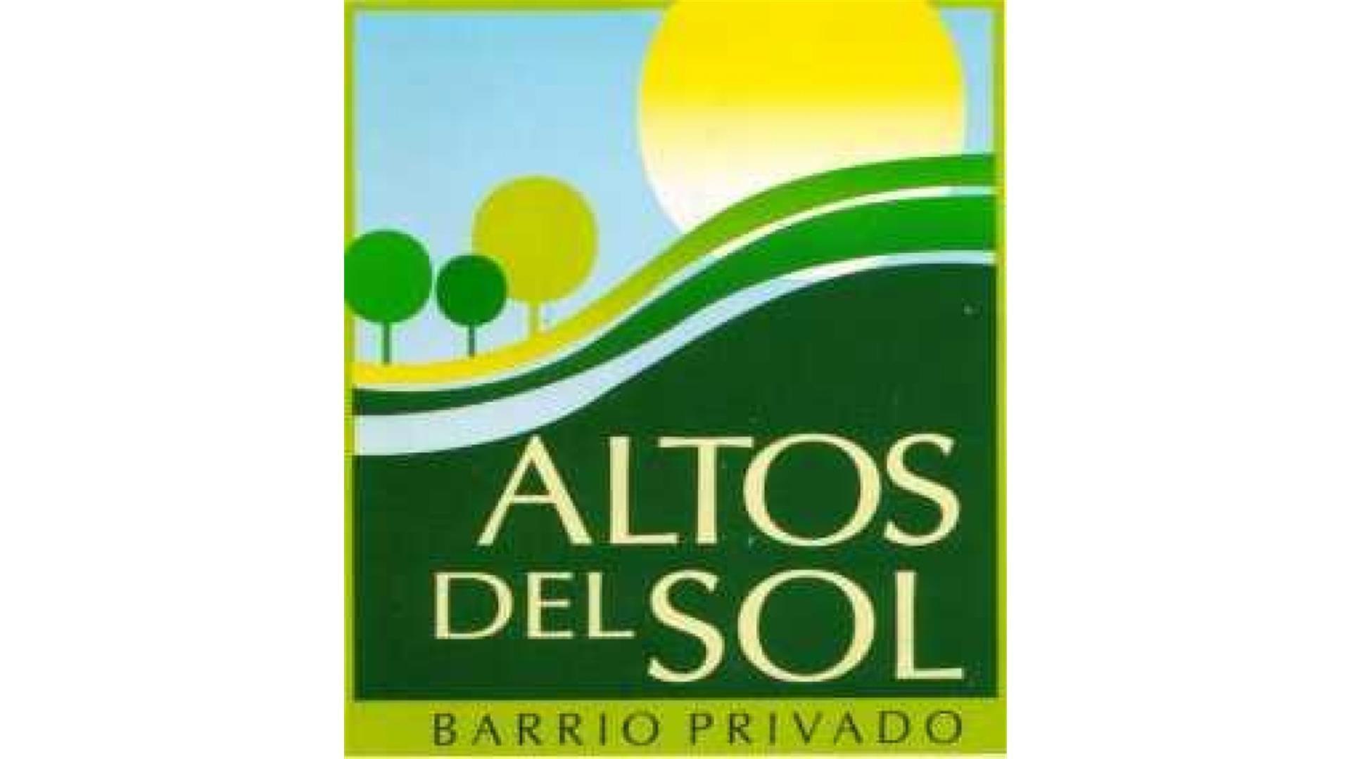 TERRENO LOTE EN VENTA 620 M2 EN BARRIO CERRADO ALTOS DEL SOL