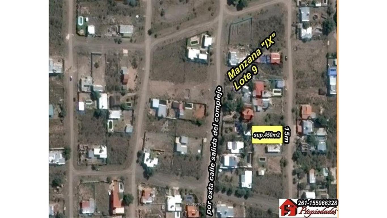 Las Heras: Condominio Corredor del Oeste (Challao) lote 500m