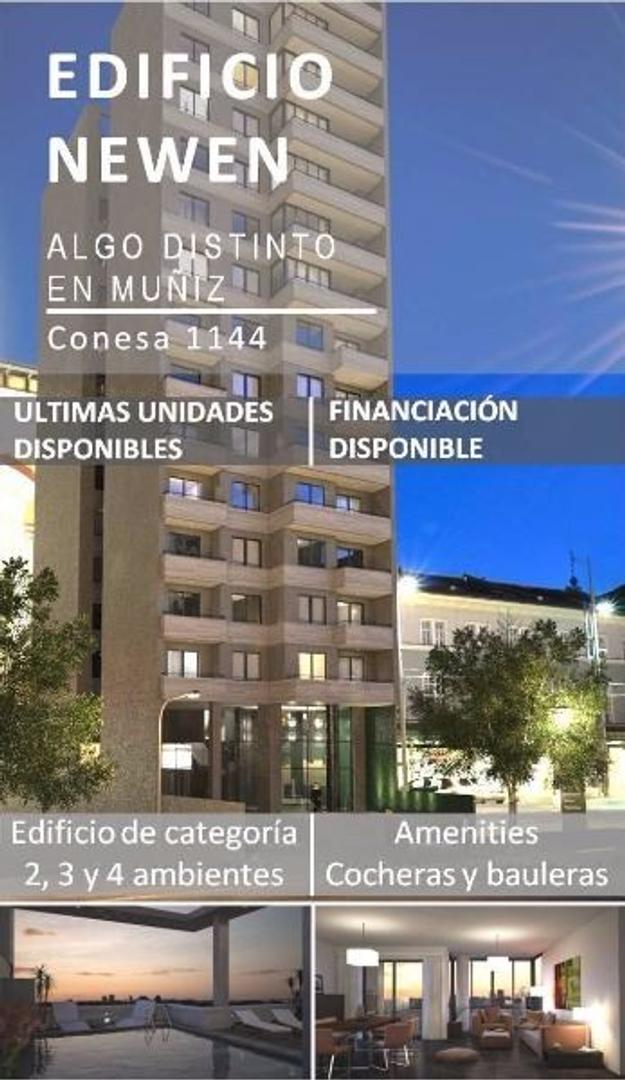 EDIFICIO DE CATEGORÍA EN MUÑIZ