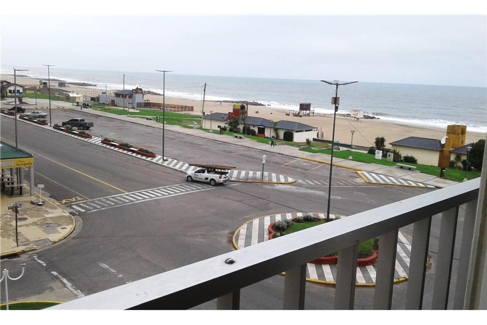 Departamento 2 ambientes vista al mar en Miramar
