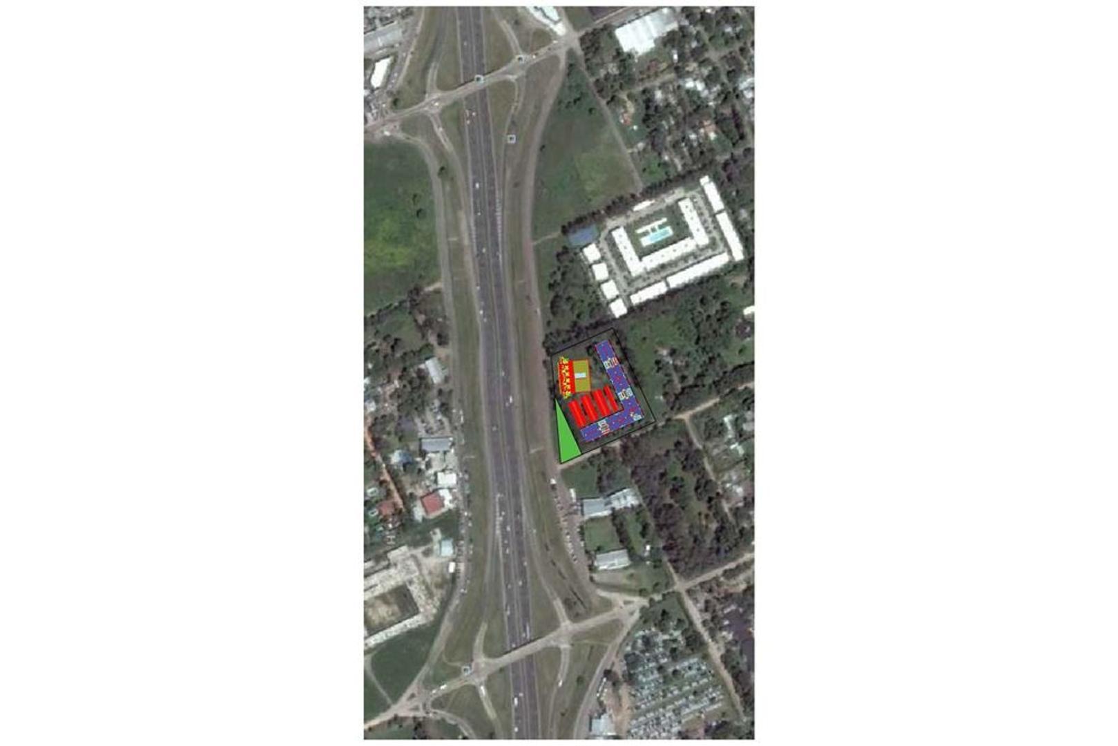 Terreno sobre colectora Km 52 - Pilar