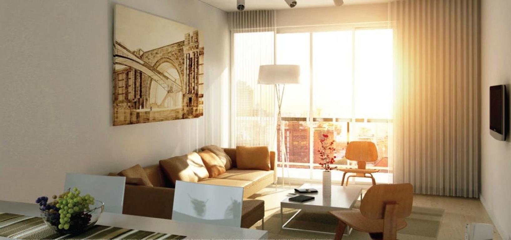 Monoambiente a estrenar con amenities en Recoleta