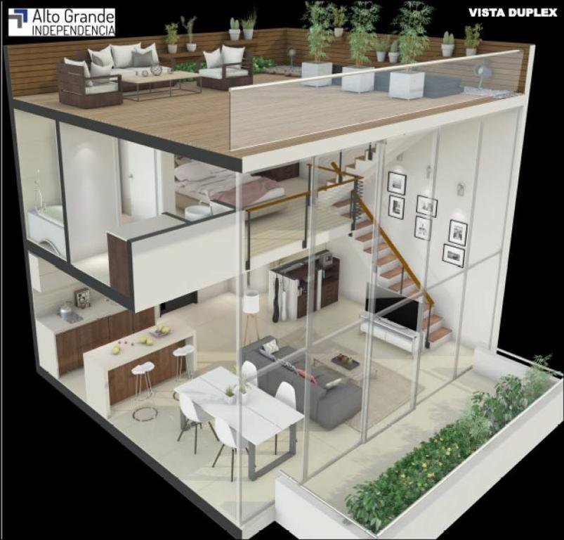 Hermoso Duplex con terraza propia muy Luminoso en pozo San Telmo. Precio Anticipo y Cuotas