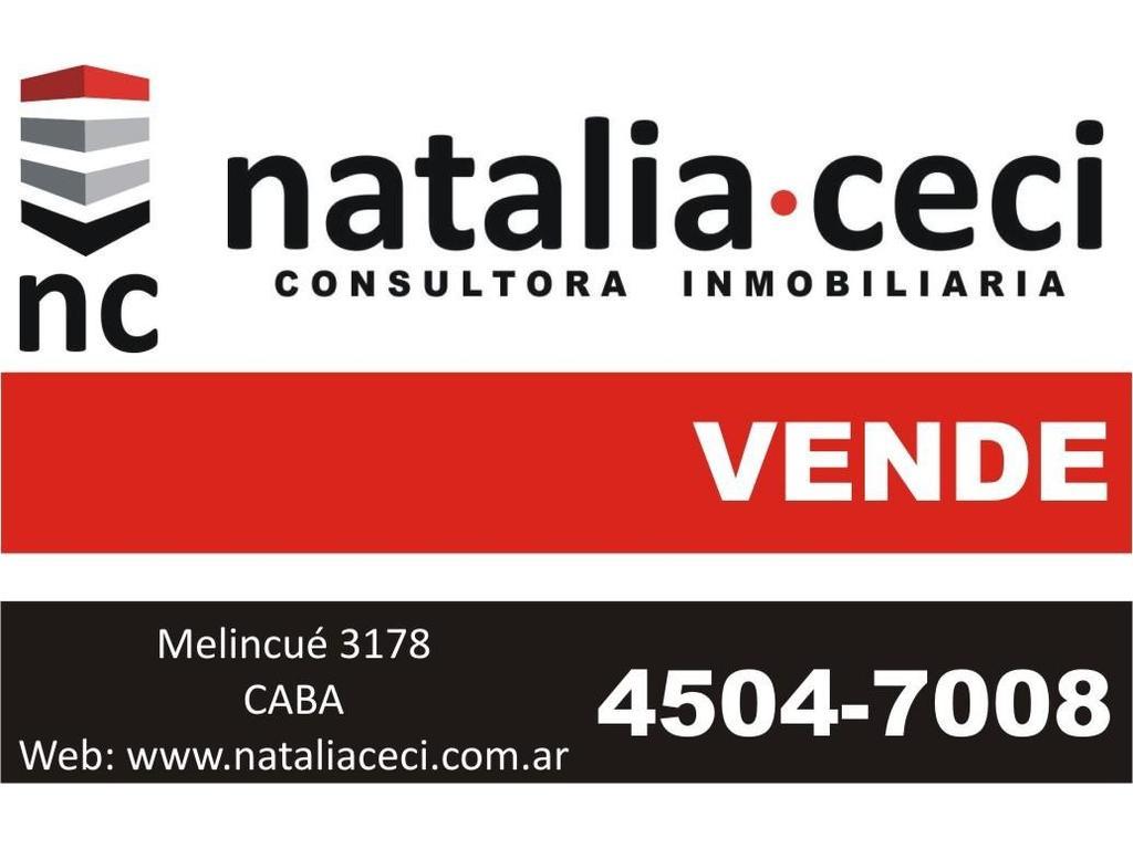 Parque Chacabuco -Excelente Lote 8,66x47 R2A2 -Cachimayo 800