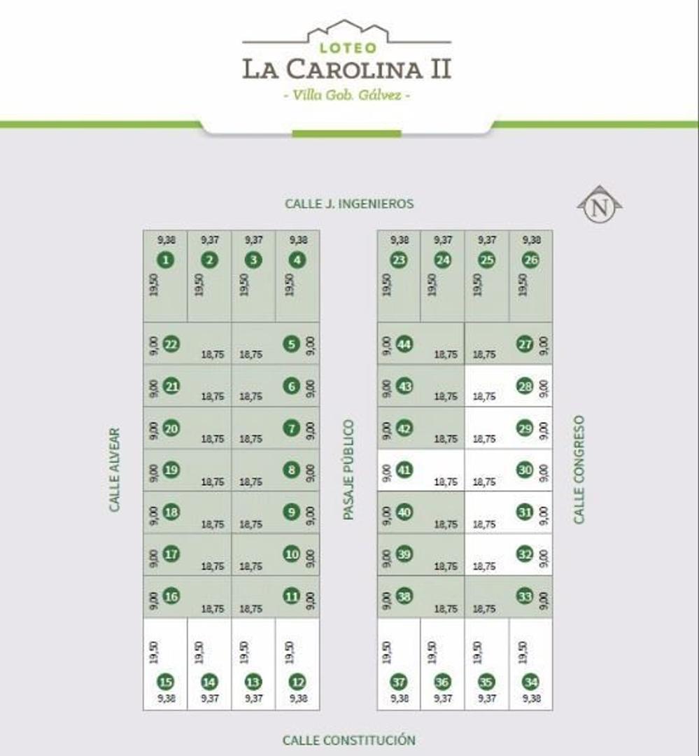 LOTEO CAROLINA II - OPORTUNIDAD DE INVERSION