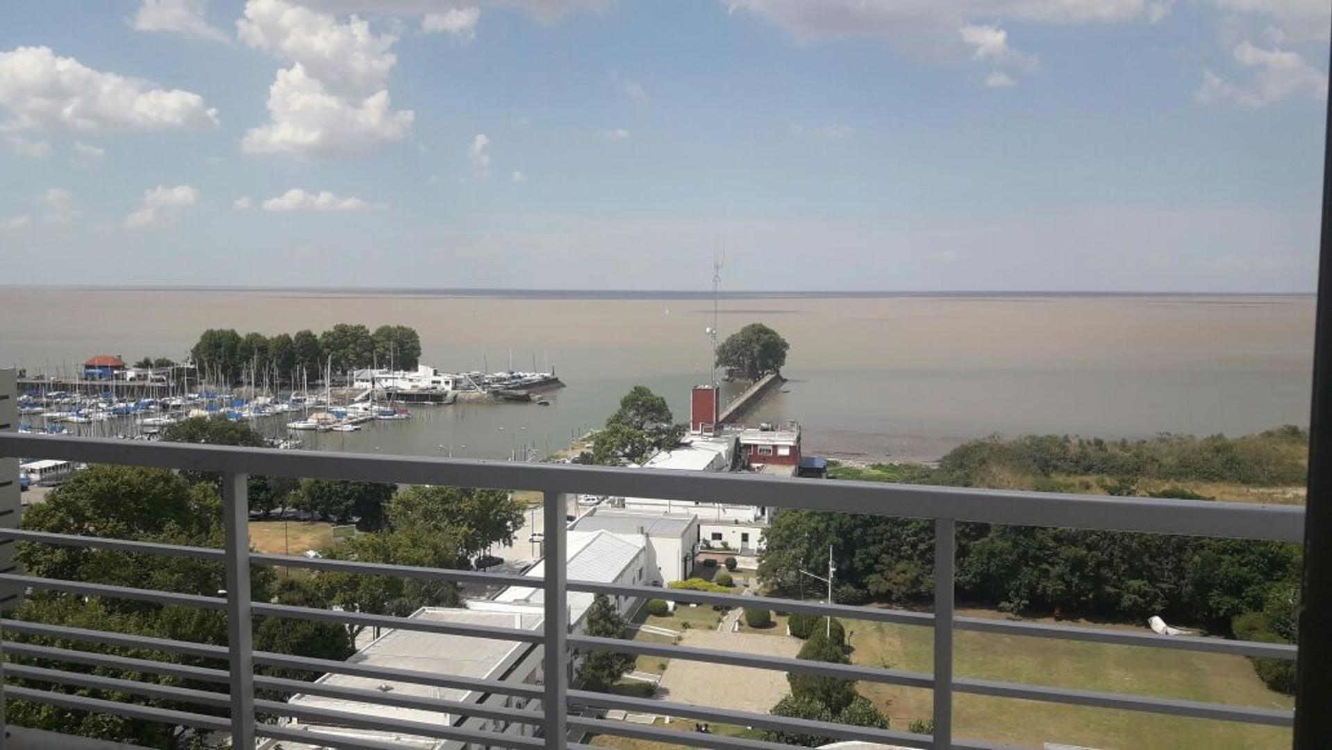 Departamento 4 ambientes, vista plena al rio, amenities, vig
