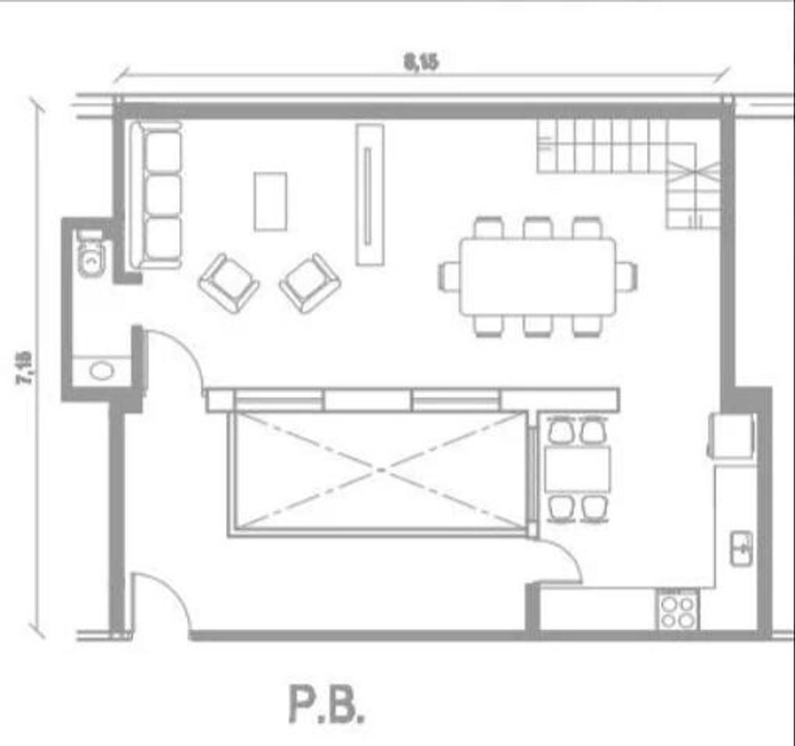 Ph en Venta en Villa Ortuzar - 6 ambientes