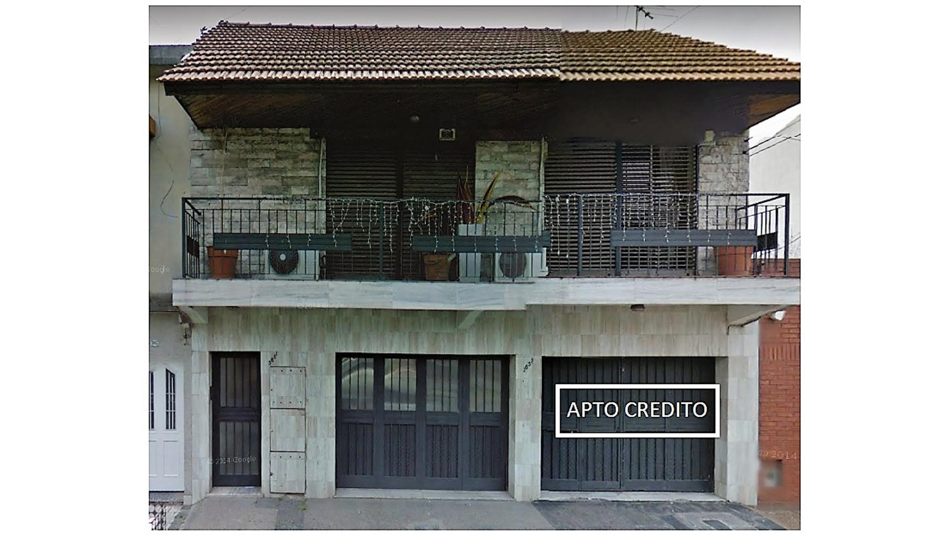Casa 5 ambientes con Garaje (PH) -  Apto Credito