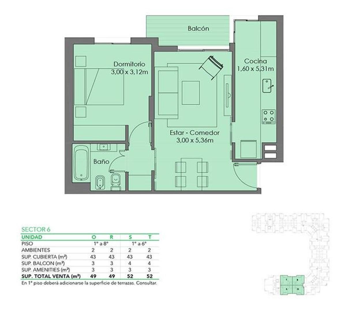 Espectacular departamento 2 ambientes en Fresias Garden. Todos los amenities - Foto 29
