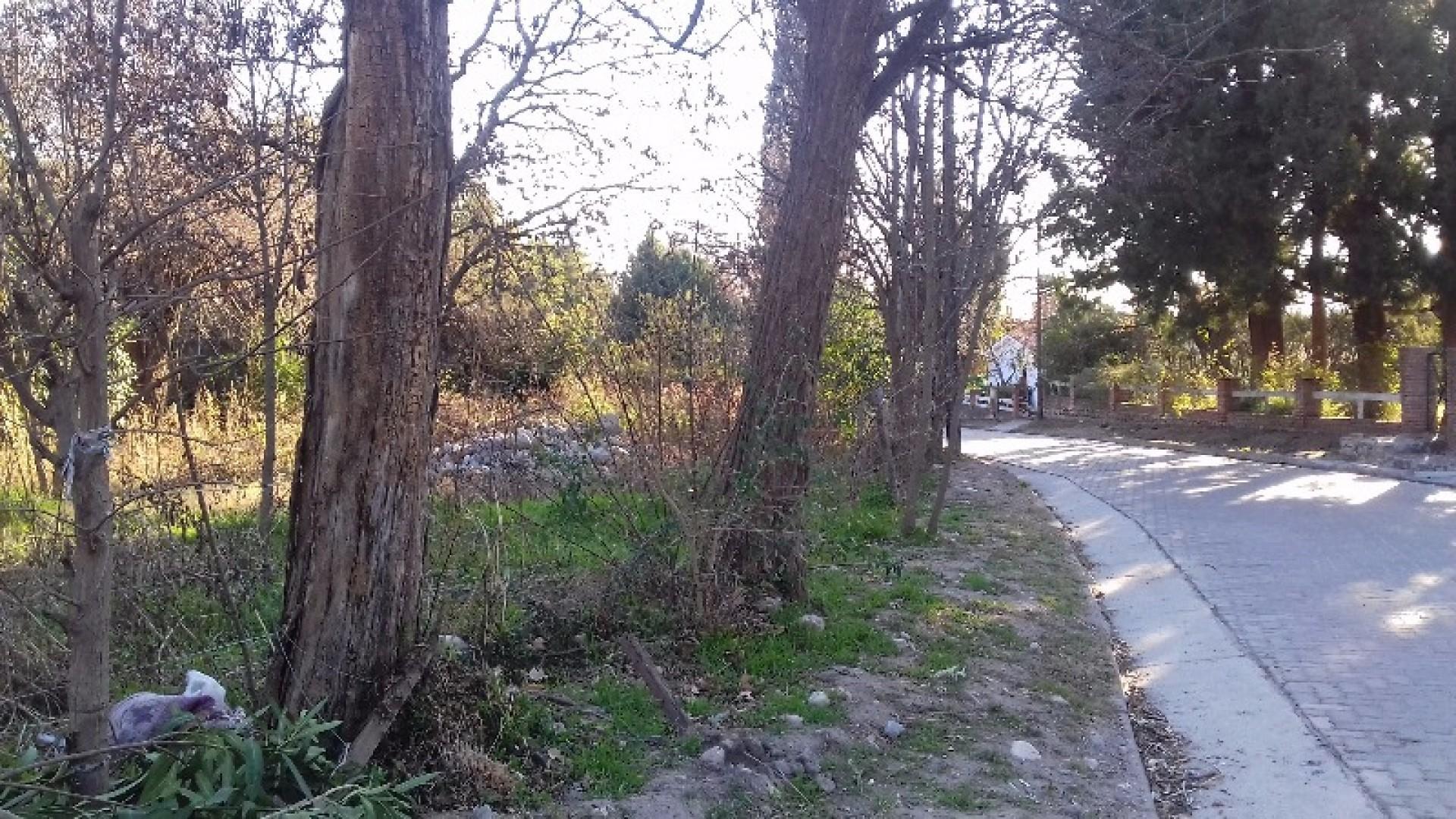 Lote esquina. A 500 mts Plaza Villa Las Rosas, Traslasierra
