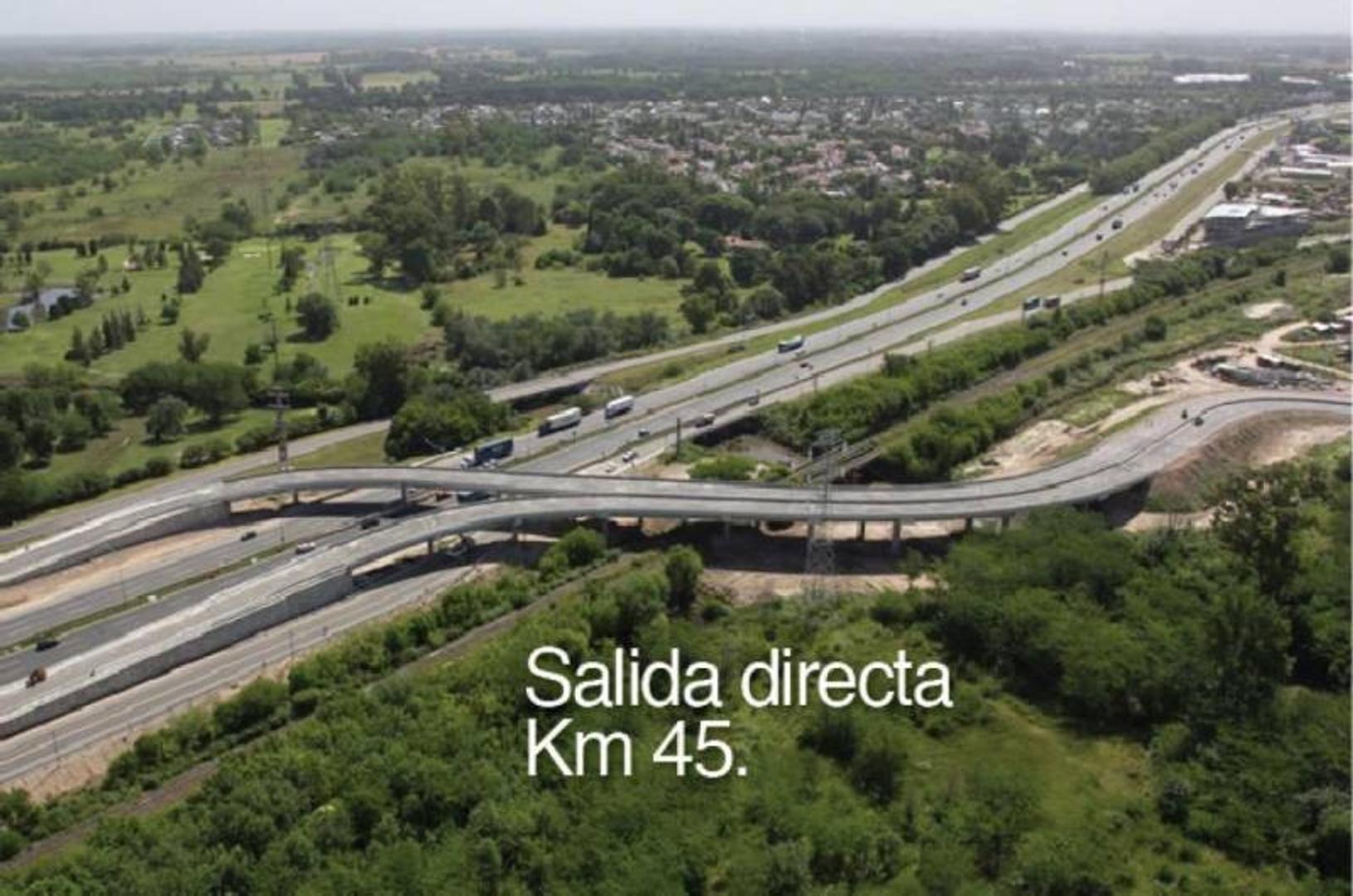 PUERTOS - BARRIO MUELLE - RAMAL ESCOBAR KM 45 - LOTE 140 - 100